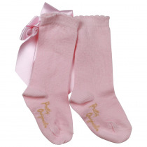 PRETTY ORIGINALS Socks With Bow – Pink