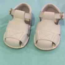 Pretty Originals Baby Boy White Box Sandals UE08184