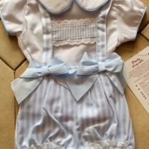 Pretty Originals Girls Blouse and Shortie Set MB10528 in Blue