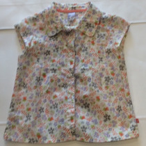 Baby girls Floral Blouse  by Baby Face Clothing