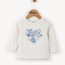 Hatley Baby Girl Blooming Heart Long Sleeve Top