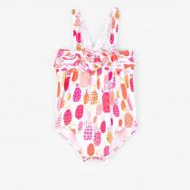 Hatley Tropical Pineapples Baby Ruffle Swimsuit