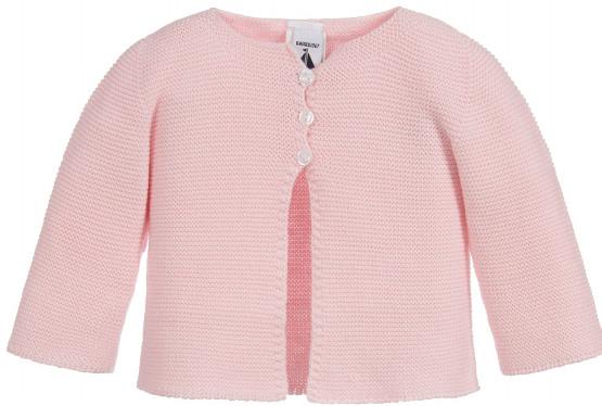 Babidu baby pink 100% Cotton Cardigan