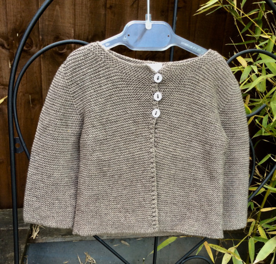 Babidu Baby Biscuit 100% Cotton Cardigan