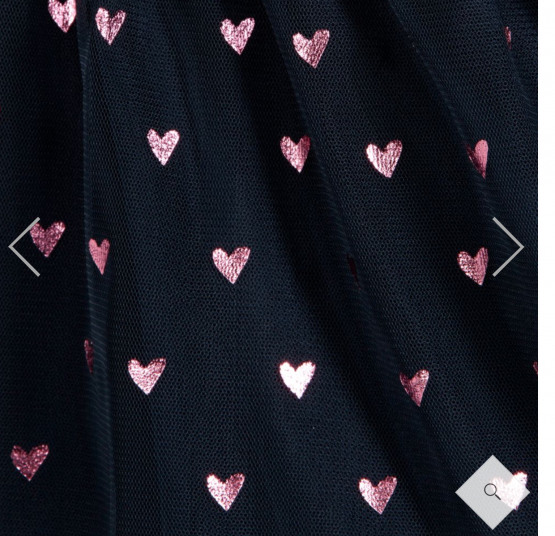 Hatley Pink Heart Dress