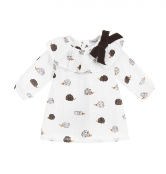 Babidu Frill Collar Hedgehog Dress