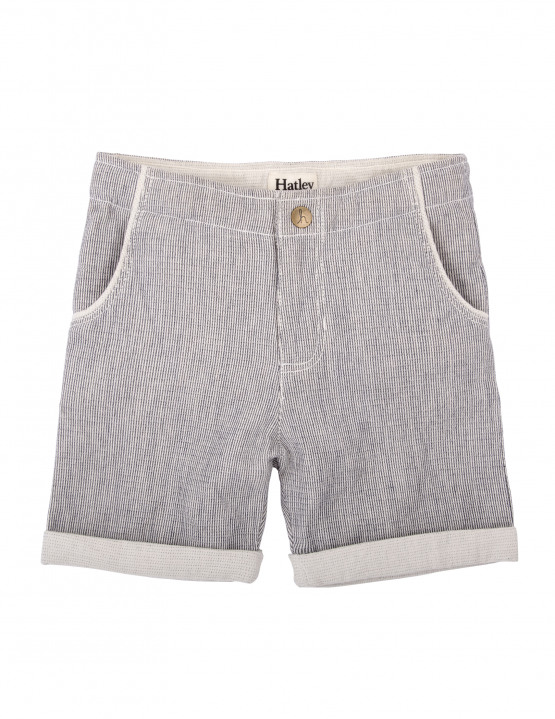 Hatley Pin Stripe Boys Shorts