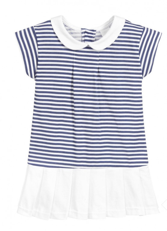 Babidu Navy Striped Summer Dress Ref 90286
