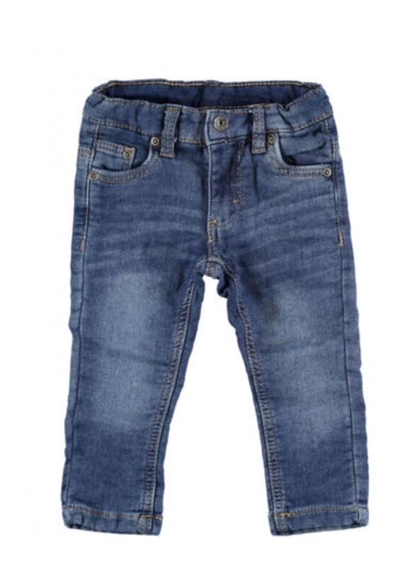 Boys  Blue Slim Fit Denim Jeans  – by Italian Brand Ido