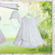 Pretty Originals Pink Dress Set BD01651- Christening Dress