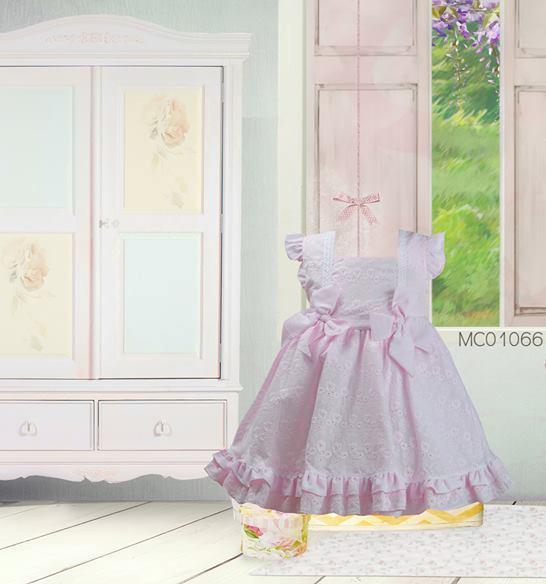 Pretty Originals Girls Pink Dress MC01066