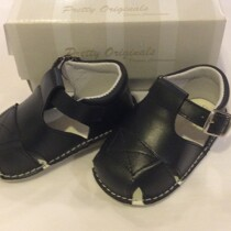 Pretty Originals Baby Boy Navy Box Sandals UE08184