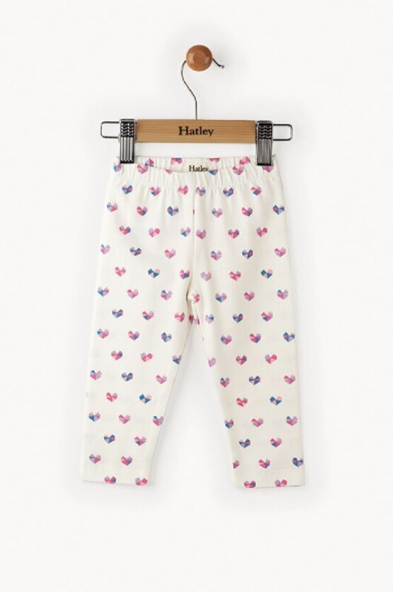 Hatley Baby Girl Mini Heart Leggings