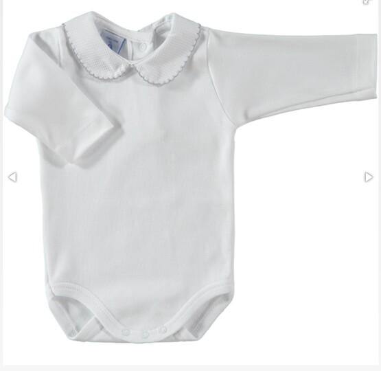 Spanish Brand Babidu Peter Pan Collar Body / Baby Vest / Romper