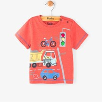 Hatley Fire Corallium Mini Tee – Orange