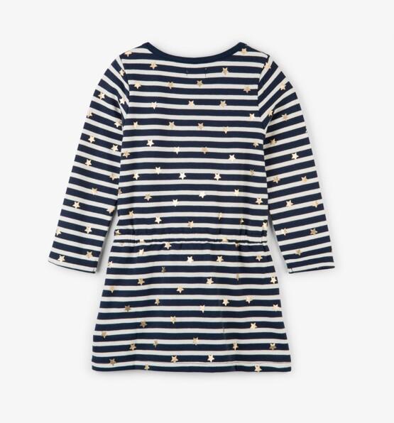 Hatley Navy Striped Dress