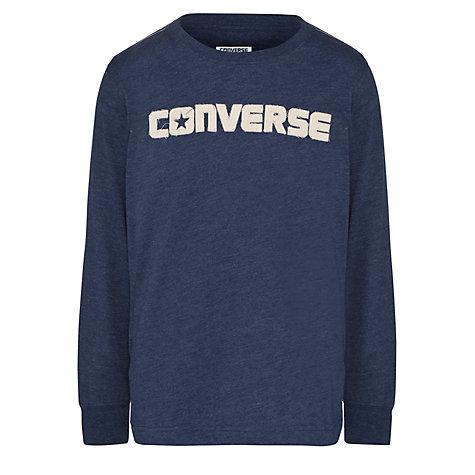 Converse Boys Navy Long Sleeve Top