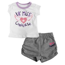 Baby girls Converse Shorts Set