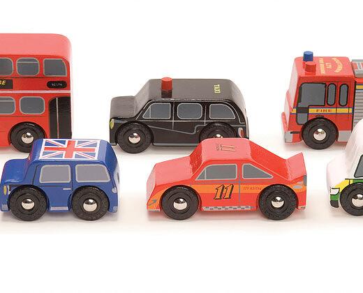 le-toy-van-london-car-set