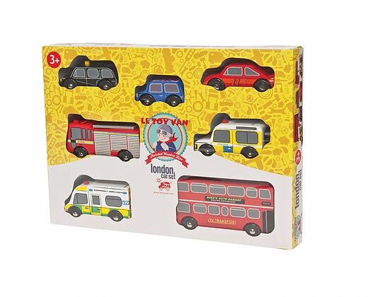 Le Toy Van London Car Set