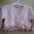 kinder Pink bow cardigan
