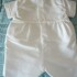 pretty originals boys cream christening outfit with hat