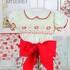 pretty originals MT00661 baby girls shorts big bow set