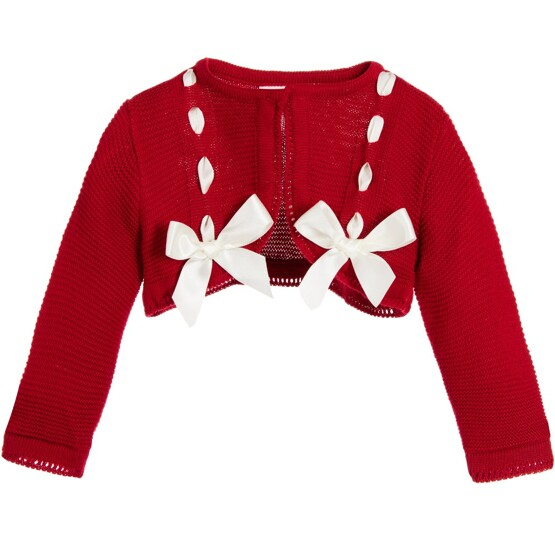 pretty-originals-red-bow-cardigan