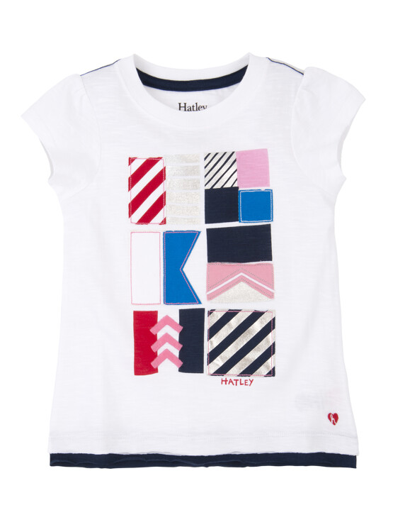 Hatley Nautical Flags Graphic Tee