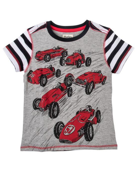 Hatley Car Print Tee Shirt