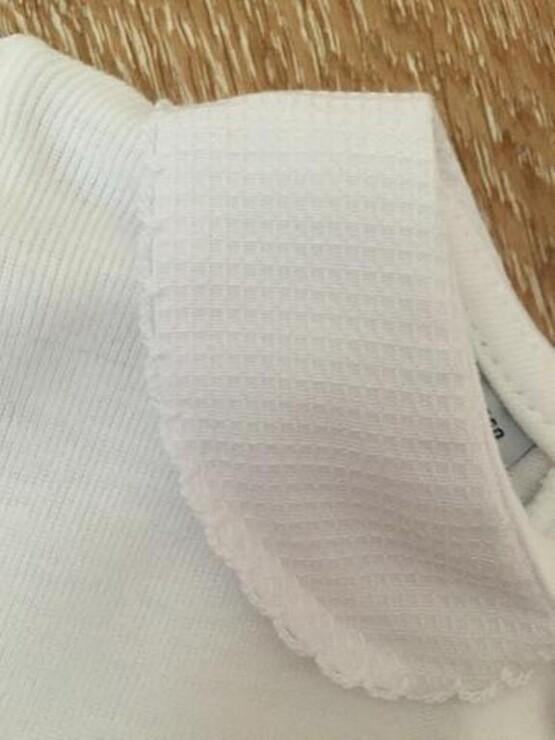 babidu 1181 all white Baby Vest