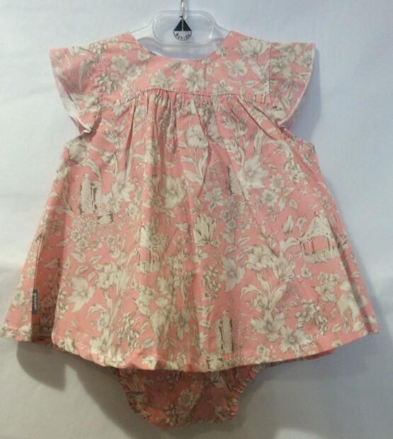 Babidu Peachy Pink 2 pc Dress Set