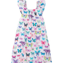 Hatley Botanical Butterflies Bow Back Dress