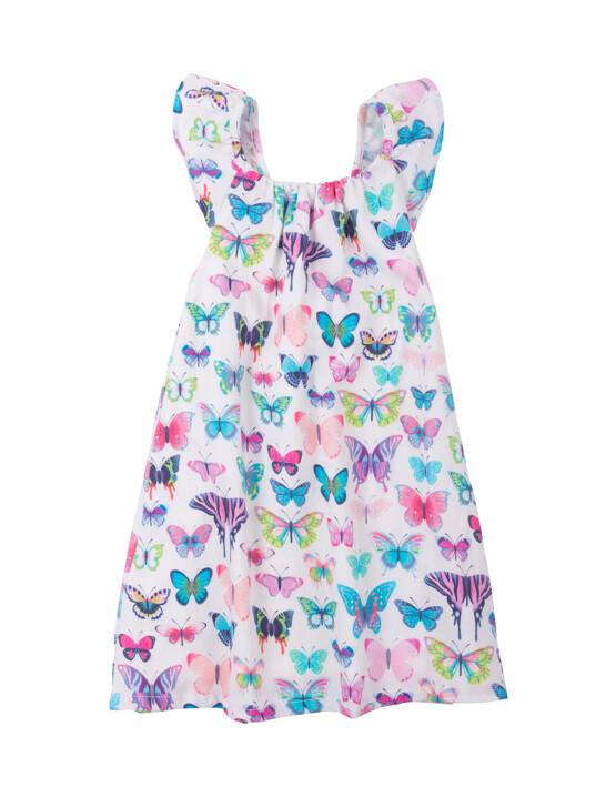Hatley Botanical Butterflies Bow Back Dress