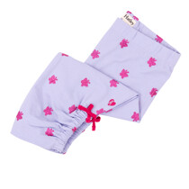 Hatley Lilac Cropped Leggings with Bink Glitter Butterflies