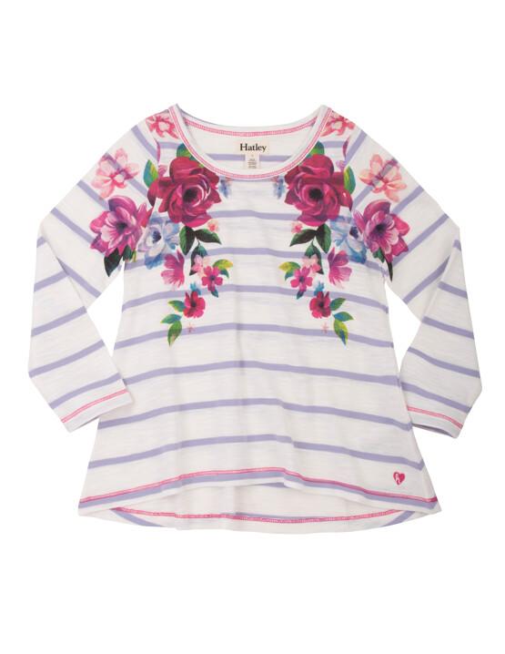 Hatley Long Sleeve floral Tee Shirt