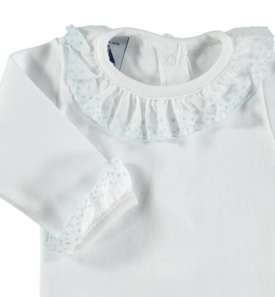 Spanish Brand Babidu Frill Collar Body / Baby Vest / Romper