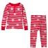 Hatley Unisex Snowflake Christmas Pajamas