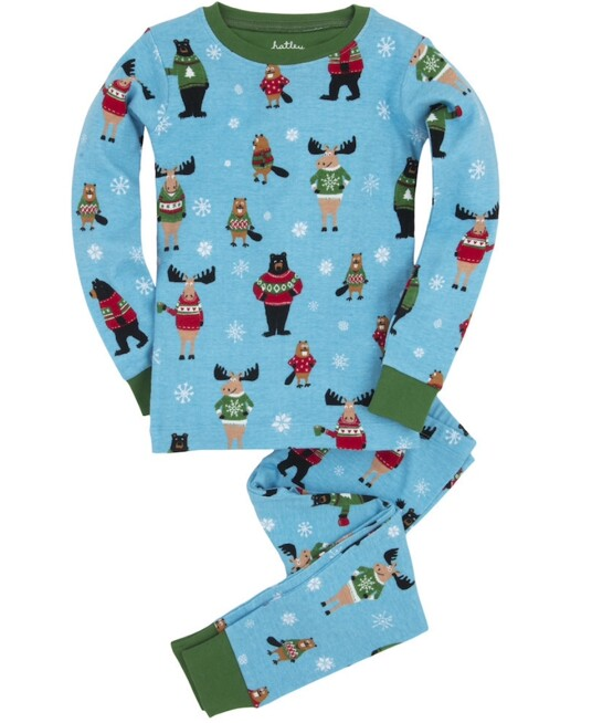 Hatley Boys Ugly Sweater Pajamas