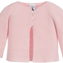 Babidu baby pink 100% Cotton Cardigan