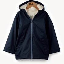 Hatley Boys True Navy Splash Jacket