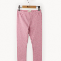 Hatley Girls Heather Pink Leggings