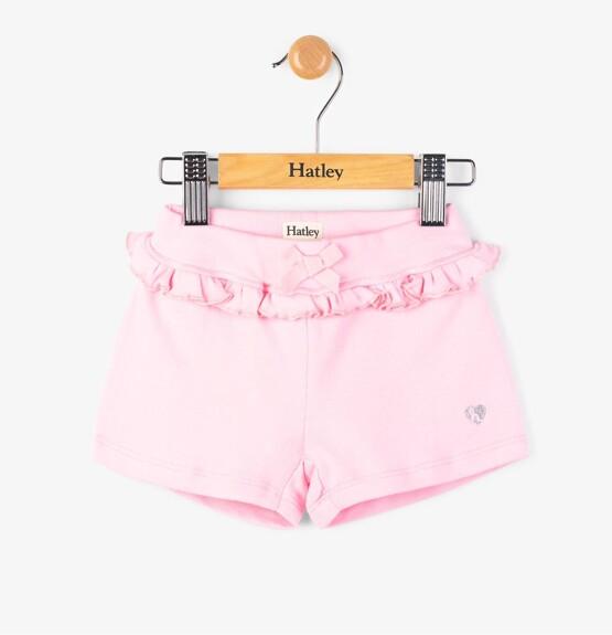Hatley Pink Ruffle Mini Shorts
