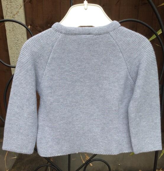 Grey Cardigan by Spanish Brand Sardon