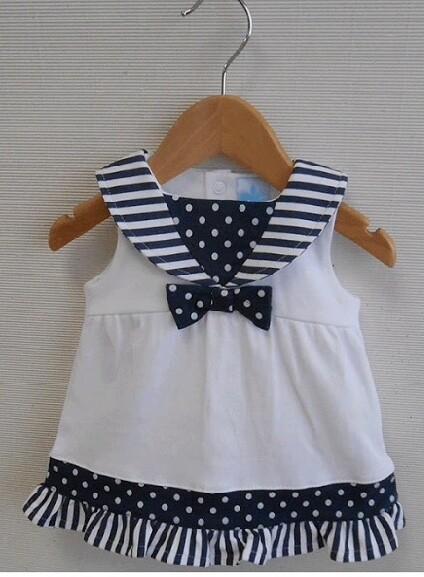 Baby Girls Sailor Dress