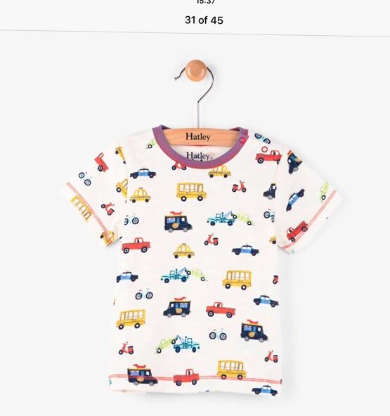 Hatley Boys Multi Car Tee Shirt