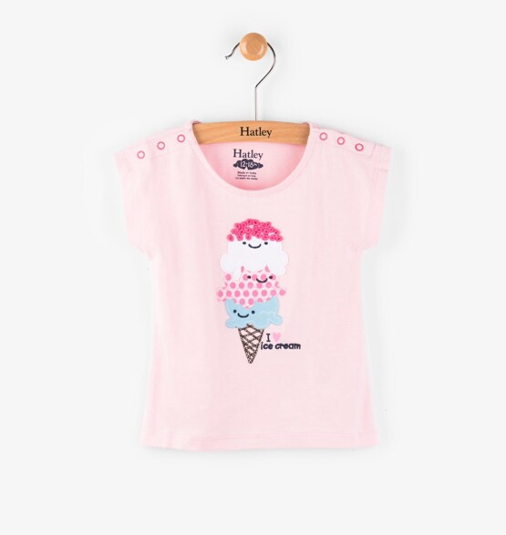 Hatley Ice Cream Love Mini Tee
