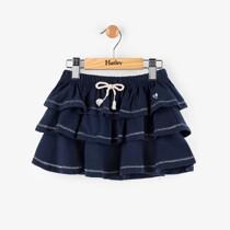 Hatley Navy Ruffle Skirt