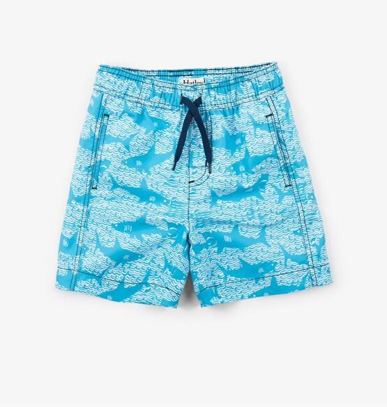 Hatley Shark Alley Swim Trunks