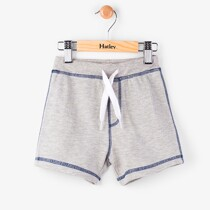 Hatley Grey Marl Mini Pull-On Shorts